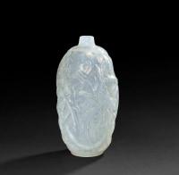 RENÉ LALIQUE Vase  Ronces Opalescent