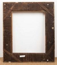 Superbe cadre d'époque régence en bois sculpté et doré