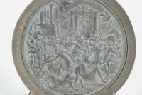 Médaillon, bas Relief, Enlèvement des Sabines, Epoque Charles X, 19ème Siècle