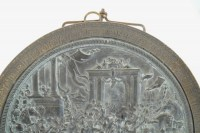 Bas relief Medallion, called the removal of the Sabines. Period Charles X  19th Century
