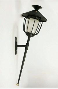 Grande Paire d'Appliques Lanternes Maison Honoré 1960