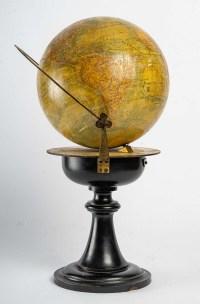 Mappemonde du XIXème siècle
