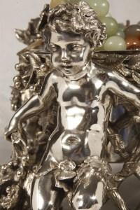 Importante Jardinière en bronze par l'orfèvre Fanniere Frères