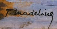 Madeline Paul Tableau Français Début 20è Siècle Ecole Crozant Pont Sur La Creuse Huile Signée