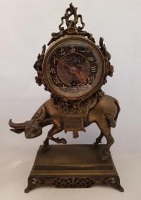 Petite pendule en bronze Napoléon III