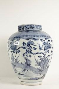 A Rare Large Arita 17th Century Porcelain Vase