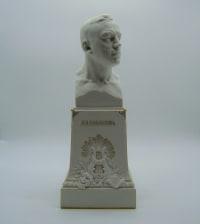 Buste En Biscuit Chanteur d'Opéra Leonid Sobinov - Soudbinine Seraphin - 1916