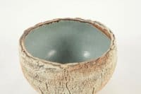 Thiébaut Chagué - Grande coupe en céramique, cuisson bois