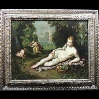 Proserpine goûtant les fruits de Pluton – Entourage de Toussaint Dubreuil (1561 – 1602)