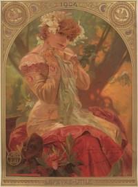 Alphonse Mucha - Lefèvre Utile LU - Sarah Bernhardt - 1904