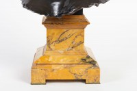 Bronze buste de Diane signé Falguière fondeurs Thiebault Frères
