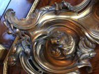 "Encrier en bronze, signé "" VANDE VOORDE "". Réf: 185"