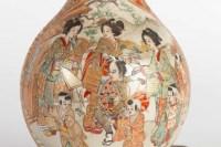 Lampe Satsuma Japon 19e siècle