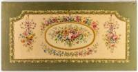 Projet de carton de tapisserie de la facture d'Aubusson