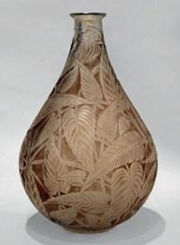 """René LALIQUE Vase """" Sauge """" -  1923"""