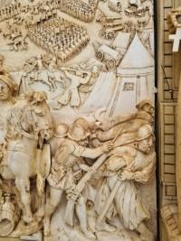 Exceptionnel et Important Panneau En Ivoire - Le Siège de Bréda (1624)- Allemagne vers 1780