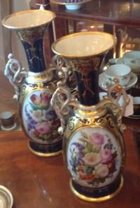 Paire de vases Paris 19e
