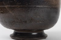 Coupe en céramique signée Jean MARAIS