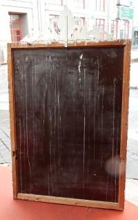 1950' Miroir Venise A Bulles a Fronton 184 X 110 cm