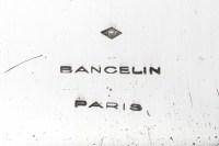 Goldsmith BANCELIN -Soup tureen in solid silver circa 1950/1960
