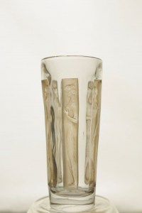 """R.Lalique: Série de 6 Verres"""" Six figurines"""""""