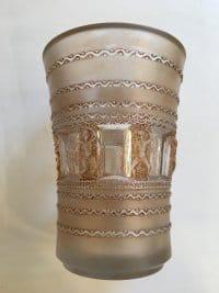 """René Lalique  (1860-1945) Vase """"Florence"""""""