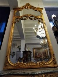 Console et son miroir, époque NIII.