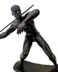 Le Lanceur De Javelot Par Nuss Fritz (1907-1999)