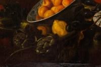 Nature morte aux cerises et melons, XVIII ème siècle. Suiveur de SNYDER