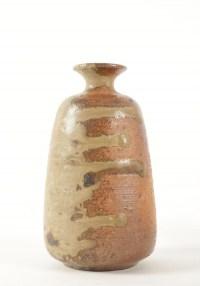 Horst Kerstan - Vase en grès, cuisson four à bois anagama