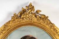 un trés grand pastel de l'école francaise du 19eme siècle .Allegorie de l'hiver