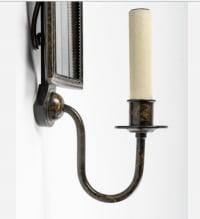 Paire d'Appliques Miroir Maison Roche1950.