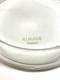 Boite « Nippon » verre blanc de René LALIQUE