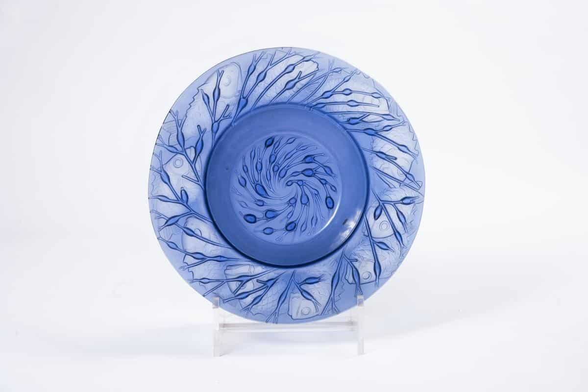 RENE LALIQUE (1860-1945)   Coupe «Anvers»