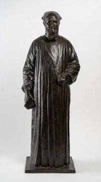 Importante sculpture en bronze, début XXème siècle.