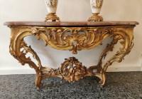 Grande console d'époque Louis XV.