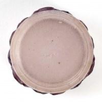 """Boîte """"Roses"""", """"Renonculus"""" pâte de verre blanche, verte, violette, bleue de Gabriel ARGY-ROUSSEAU"""