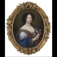 Portrait de Marie Musy vers 1680 par Jean Guynier (1630 – 1707)