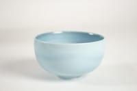 Fance Franck - Coupe en porcelaine à décor abstrait et naturaliste. Vers 1970