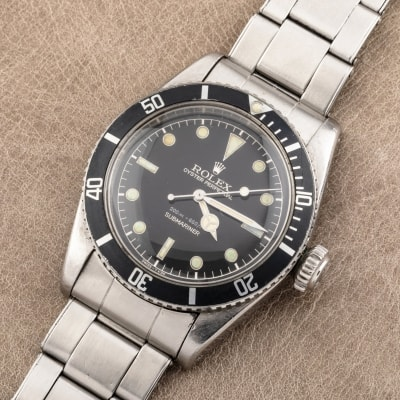 "Rolex Submariner 6538 cadran Gilt dite ""James Bond""