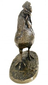 Le Coq Par Pierre-jules Mène (1810-1879)