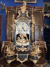 Cartel boulle de style Louis XIV