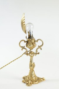 Lovely Bronze Gilt lamp for diffusion of light