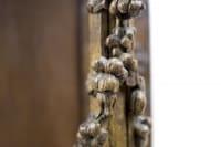 Console sellette en chêne, XVIIIe et XIXe siècles