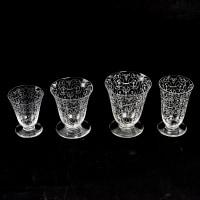 """Service """"Michel Ange"""" cristal blanc - 35 Pièces (32 Verres + 2 Carafes + 1 Pichet) de BACCARAT"""