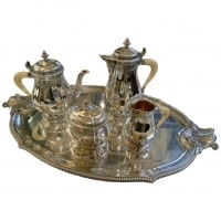 Silver Tea / Coffee Set 4 Pieces