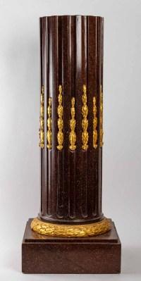 A Napoleon III Period (1851 - 1870) Column.