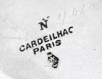 ORFEVRE CARDEILHAC - SERVICE THE/CAFE EN ARGENT - XIXÈ