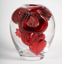 Lalique, Vase Aux Deux Dragons.