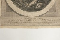 """Steel Engraving from the 19th Century """" Le Depart Du Courier"""""""